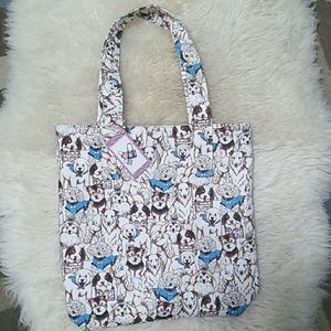 Lady Birch Bags - Dogs Tote Bag Reversible